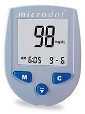microdot® Blood Glucose Monitor